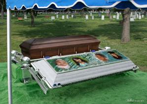 Wilbert Way Ovation Set Up & Wilbert Burial Vault Company | Burial Services